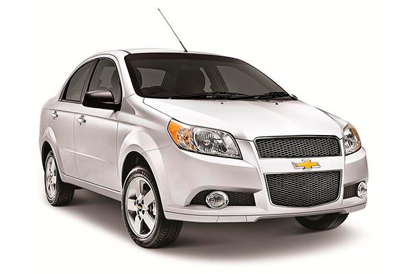 Alquiler Coches Ibiza - Chevrolet Aveo 4P