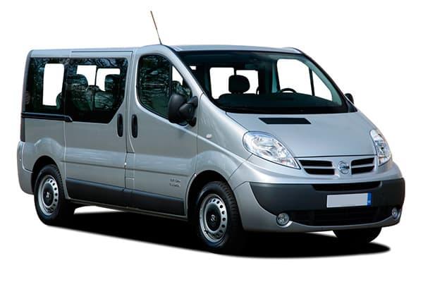Alquiler Coches Ibiza - Nissan Primastar