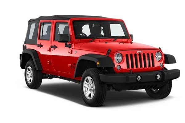Alquiler Coches Ibiza - Jeep Wrangler Long Body